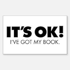 Got Book? Sticker (Rectangle)