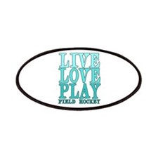 Live, Love, Play - Field Hockey Patches