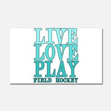 Live, Love, Play - Field Hockey Car Magnet 20 x 12