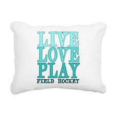 Live, Love, Play - Field Hockey Rectangular Canvas