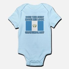 Patriotic Guatemalan designs Infant Bodysuit