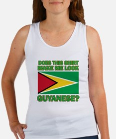Patriotic Guyanese designs Women's Tank Top