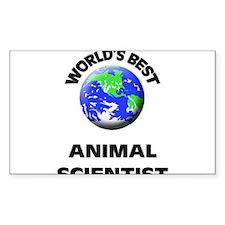 World's Best Animal Scientist Decal
