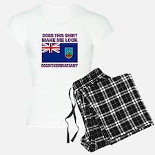 Patriotic Montserratian designs Pajamas