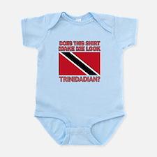 Patriotic Trinidadian designs Infant Bodysuit