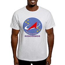 Roscosmos Blue Logo T-Shirt