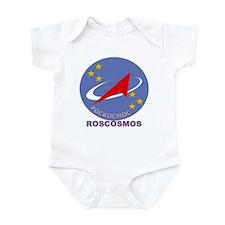 Roscosmos Blue Infant Bodysuit