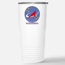 Roscosmos Blue Logo Travel Mug