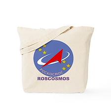 Roscosmos Blue Logo Tote Bag
