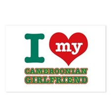 Cameroonian Girlfriend designs Postcards (Package