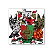 Coventry City Coat of Arms Oval Sticker