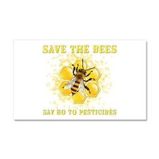 Save The Bees Car Magnet 20 x 12