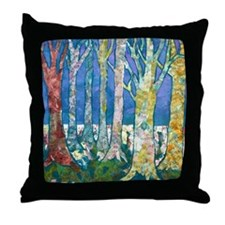 Tree Tapestry 2 Throw Pillow