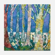 Tree Tapestry 2 Tile Coaster