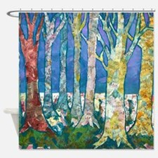 Tree Tapestry 2 Shower Curtain