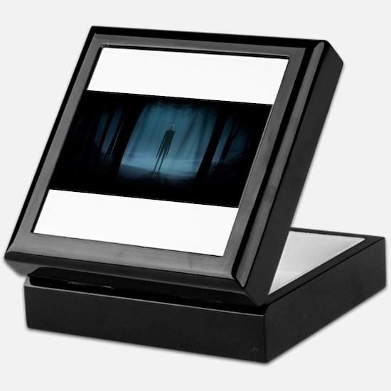 Oh No It's Slender-Man Keepsake Box