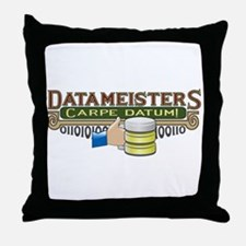 Datameisters Throw Pillow