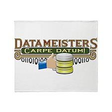Datameisters Throw Blanket
