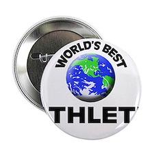 """World's Best Athlete 2.25"""" Button"""