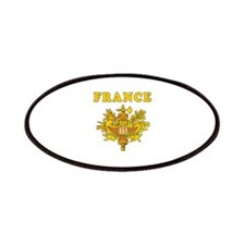 France Coat Of Arms Designs Patches