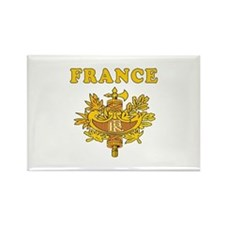 France Coat Of Arms Designs Rectangle Magnet