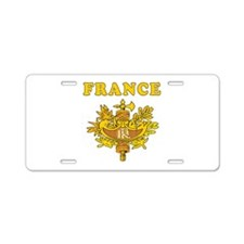 France Coat Of Arms Designs Aluminum License Plate