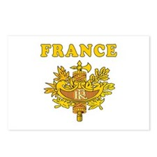 France Coat Of Arms Designs Postcards (Package of
