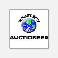 World's Best Auctioneer Sticker
