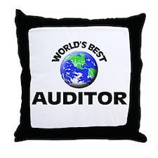 World's Best Auditor Throw Pillow