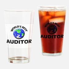 World's Best Auditor Drinking Glass