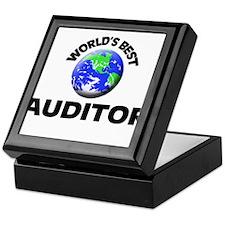 World's Best Auditor Keepsake Box