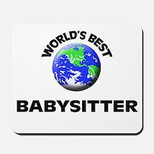 World's Best Babysitter Mousepad