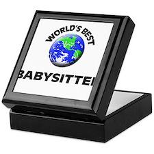 World's Best Babysitter Keepsake Box