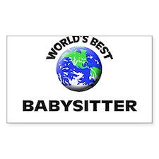 World's Best Babysitter Decal