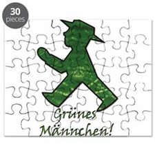 Grunes Mannchen! Berlin Walking Man! Puzzle