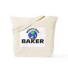World's Best Baker Tote Bag