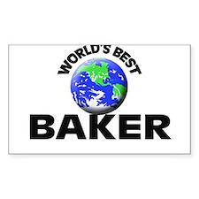 World's Best Baker Decal