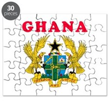 Ghana Coat Of Arms Designs Puzzle