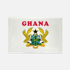 Ghana Coat Of Arms Designs Rectangle Magnet