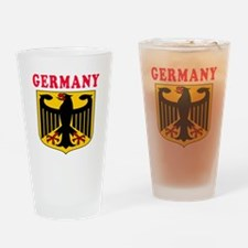 Germany Coat Of Arms Designs Drinking Glass