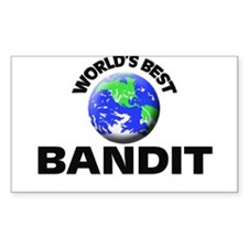 World's Best Bandit Decal