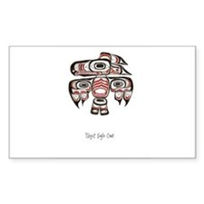 Eagle Crest, Tlingit Alaskan Native Art Decal