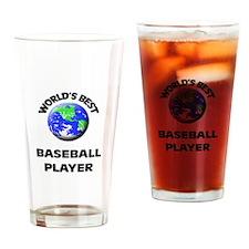 World's Best Baseball Player Drinking Glass