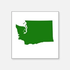 Green Washington Sticker