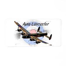 Lancaster Aluminum License Plate