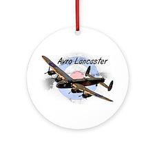 Lancaster Ornament (Round)