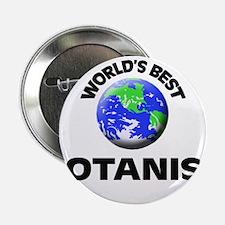 """World's Best Botanist 2.25"""" Button"""