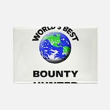 World's Best Bounty Hunter Rectangle Magnet