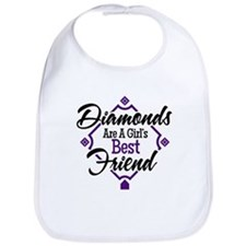 Diamonds P B Bib