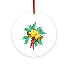 Bells Aringing Ornament (Round)